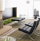 van+de+rohe+barcelona+chair+room